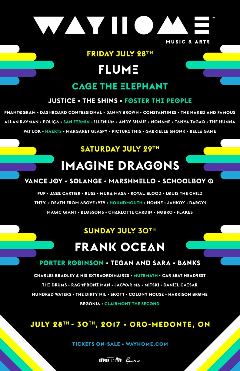 Full lineup (Click to zoom)