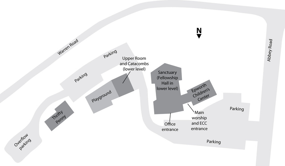 Map of Epworth campus