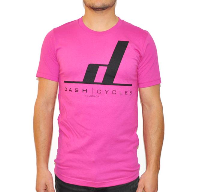 Dash Cycles - Tshirt - Pink.jpg