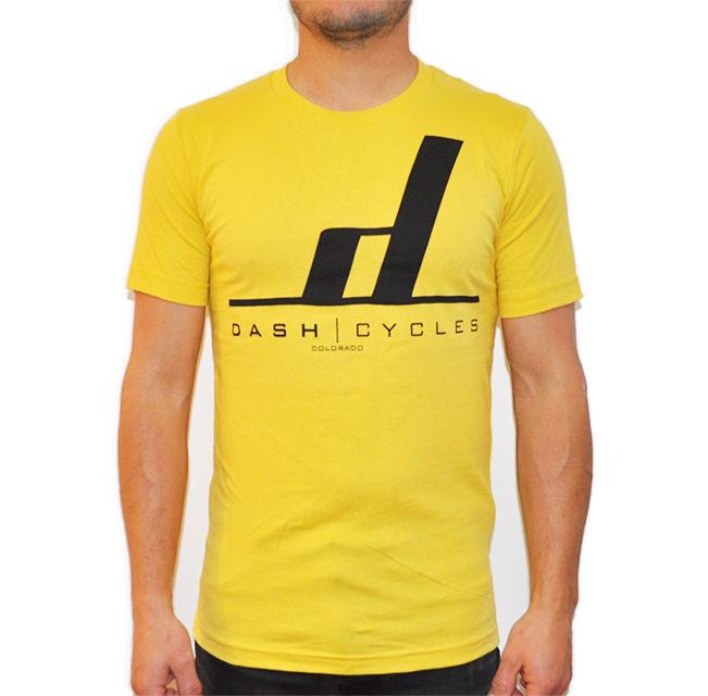 Dash Cycles - Tshirt - Yellow.jpg