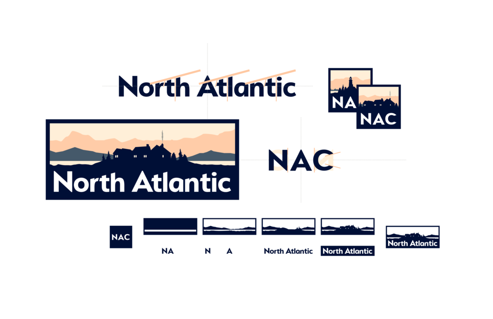How can we attract talent to a manufacturing brand? - Find Shelter — North AtlanticLogo Design • Brand Identity