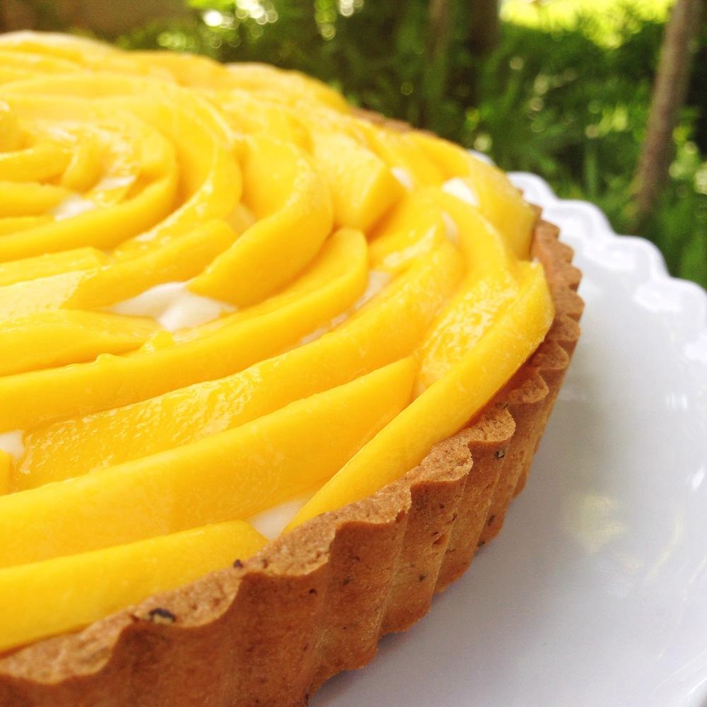 Mango Tart | RafaellaSargi.com