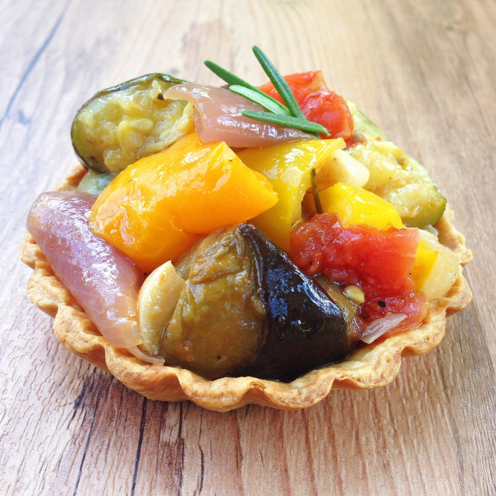 Roasted Vegetable Tart | RafaellaSargi.com