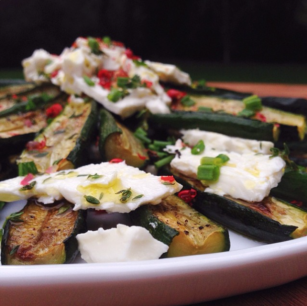 Roasted Zucchini | RafaellaSargi.com