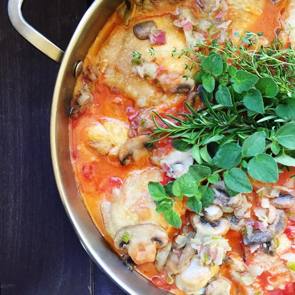 Chicken Cacciatore | RafaellaSargi.com