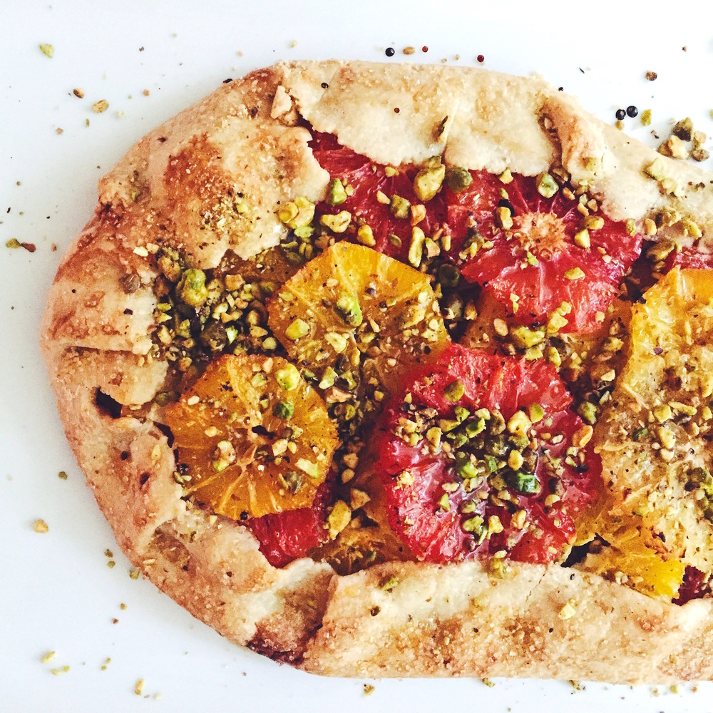 Citrus Galette | RafaellaSargi.com