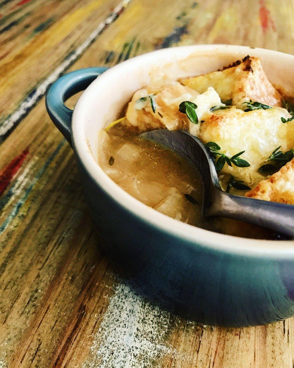 Onion Soup | RafaellaSargi.com