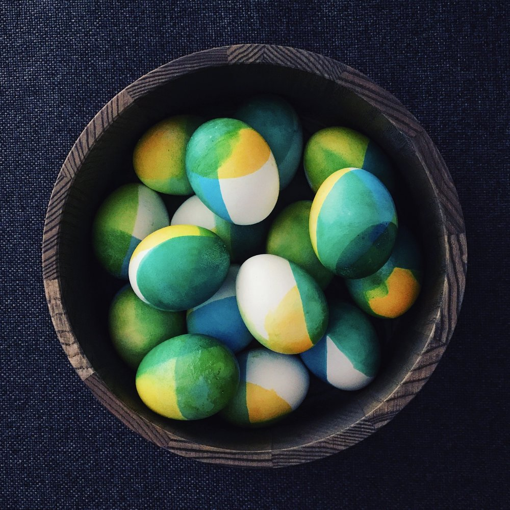 Chromatic Easter Eggs | RafaellaSargi.com