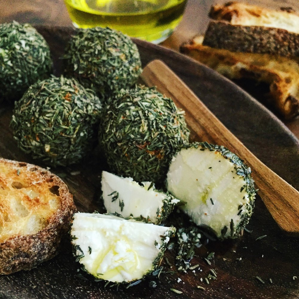 Goat Cheese Balls | RafaellaSargi.com