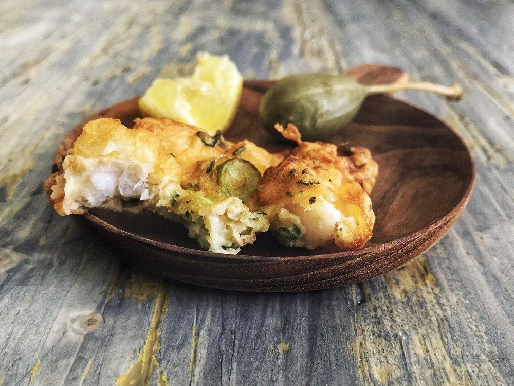 Shrimp Fritters | RafaellaSargi.com