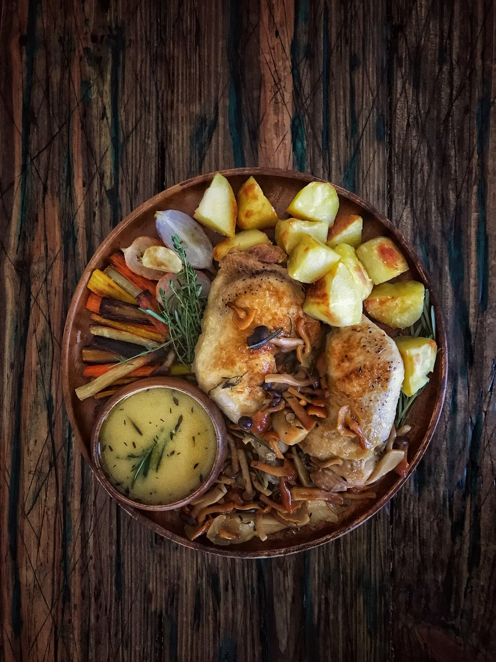 Citrus Braised Chicken | RafaellaSargi.com