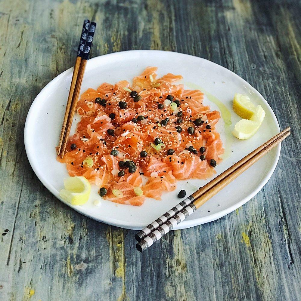 Salmon Crudo | RafaellaSargi.com