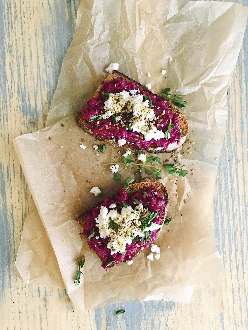 Red Beet Salad | RafaellaSargi.com