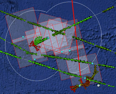 By integrating AIS and SAR imagery, SkyTruth identified over 40 suspicious vessels surrounding Easter Island.