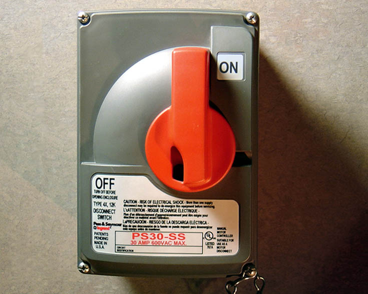 Pass & Seymour Safety Switch