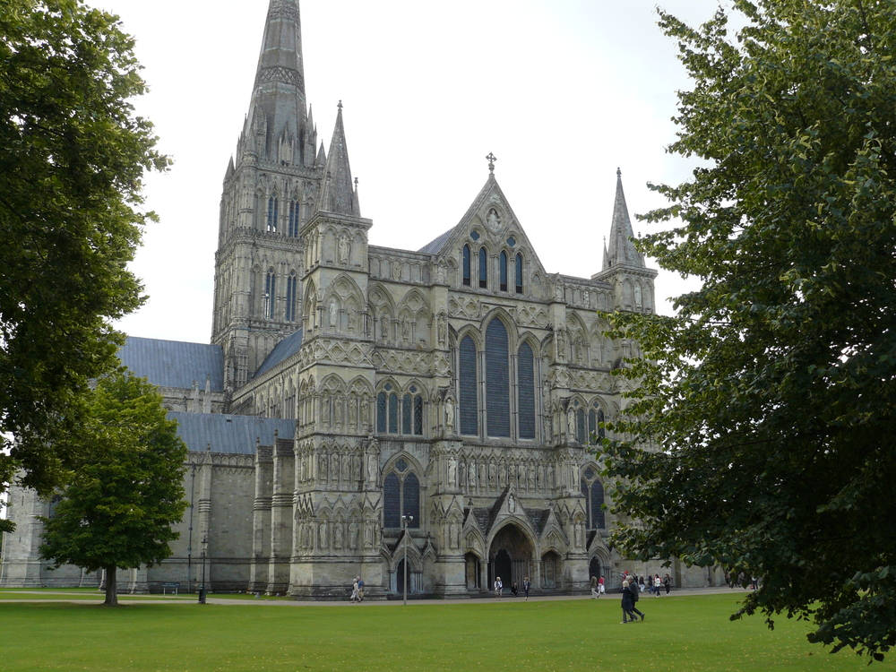 We toured and had the opportunity to sing in Salisbury Cathedral.