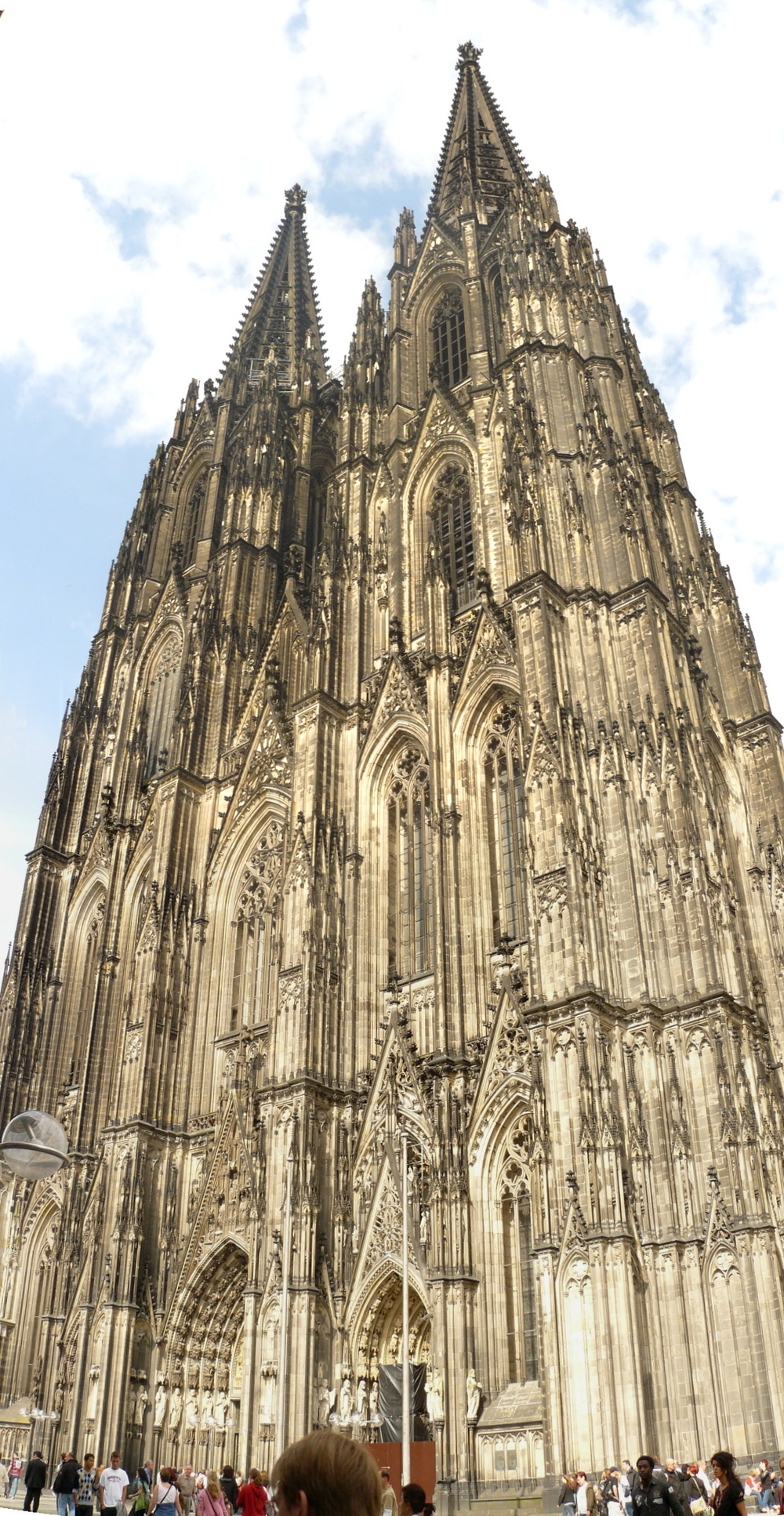 One of the highlights of the tour was performing in Cologne Cathedral.