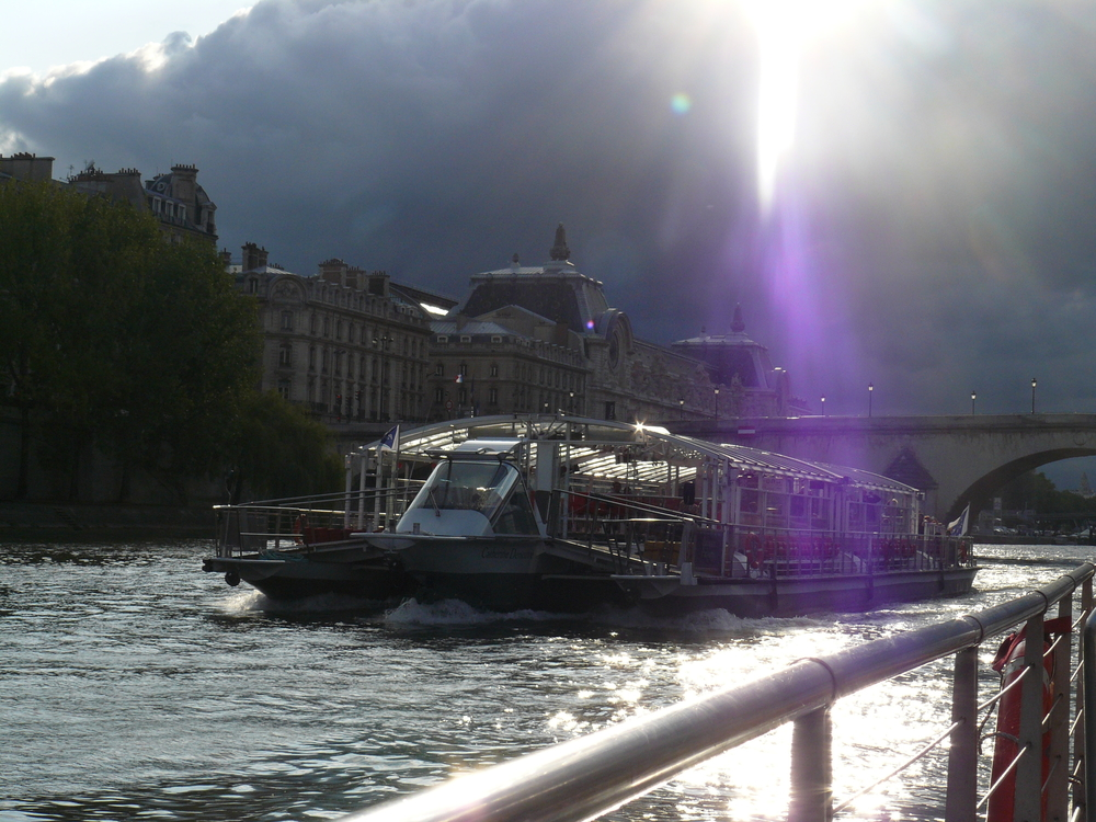 Our last night on tour, cruising the River Seine.