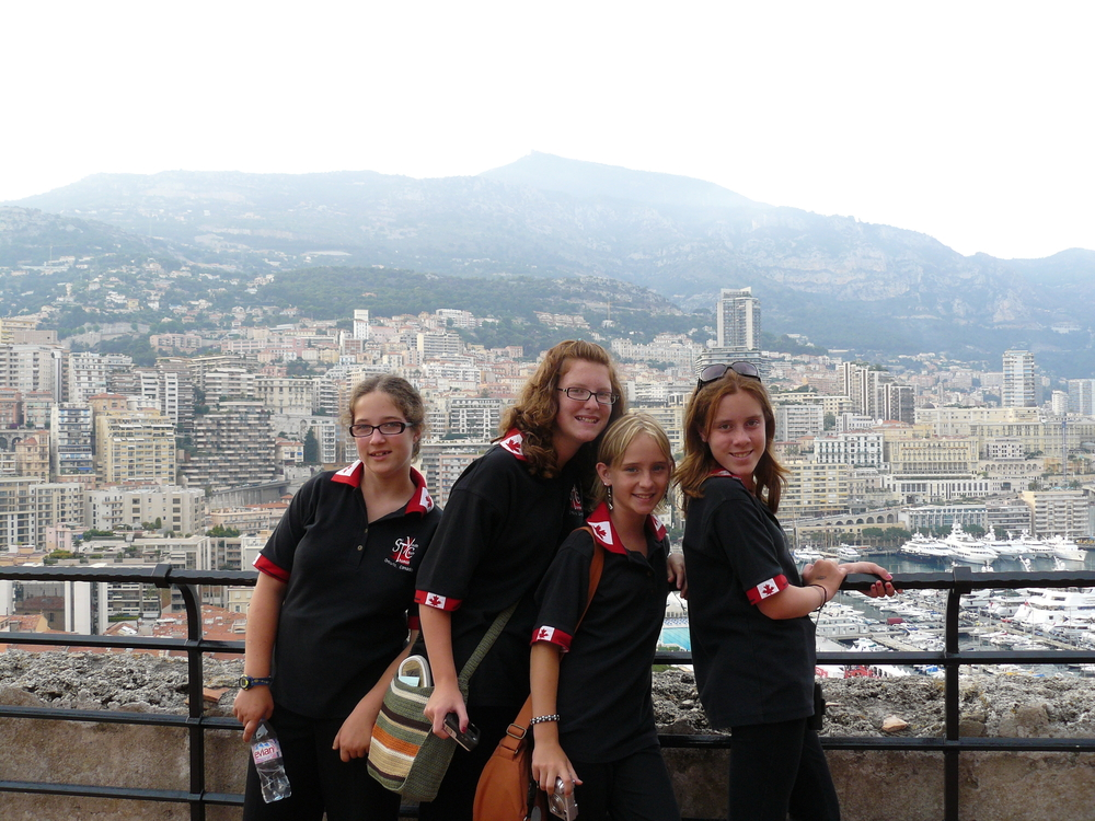 Day trip to Monaco where we performed in the cathedral that Princess Grace was married in.