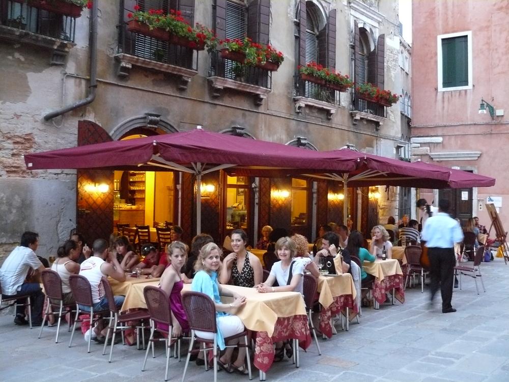 Dinner in Venice!