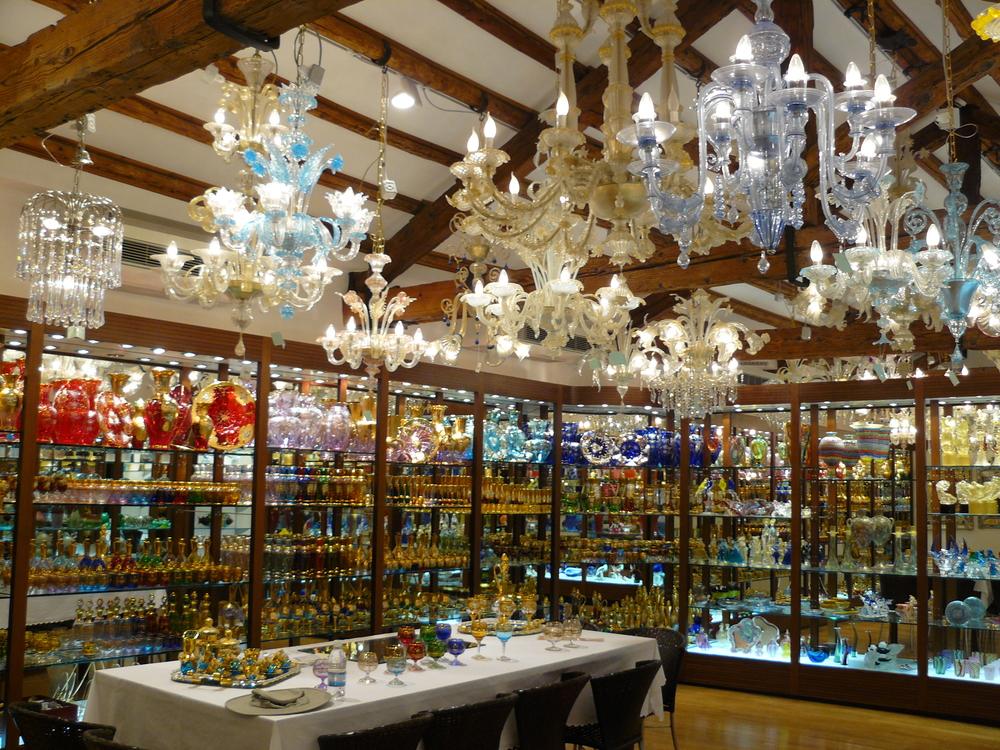 A trip to neighboring island of Moreno to buy some Venetian glass.