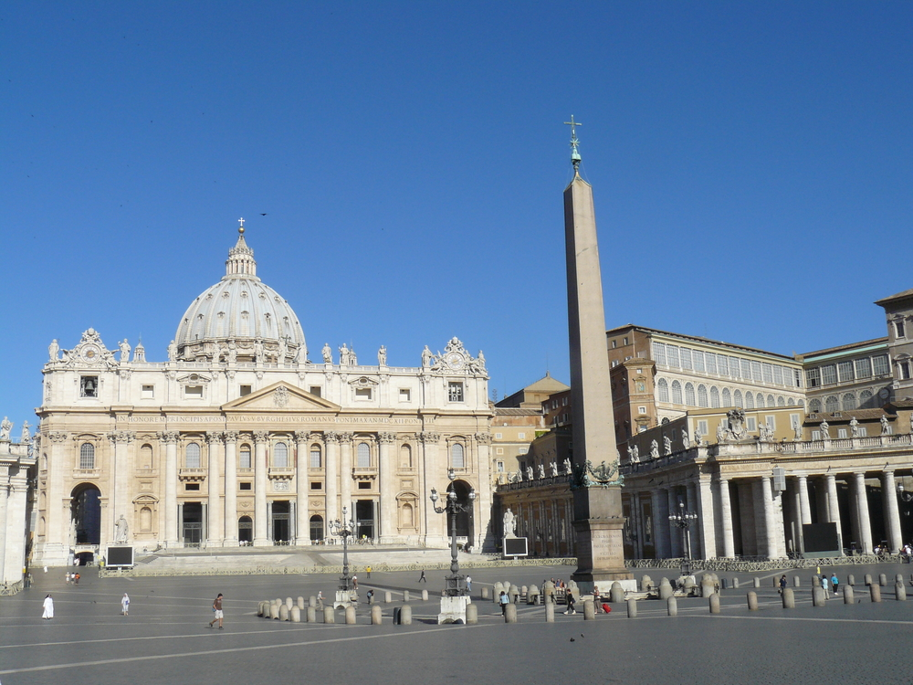 St. Paul's Cathedral in Vatican City. (The head church for Catholics around the world.)