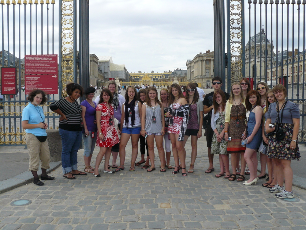 The Main Gates to the Palace of Versailles