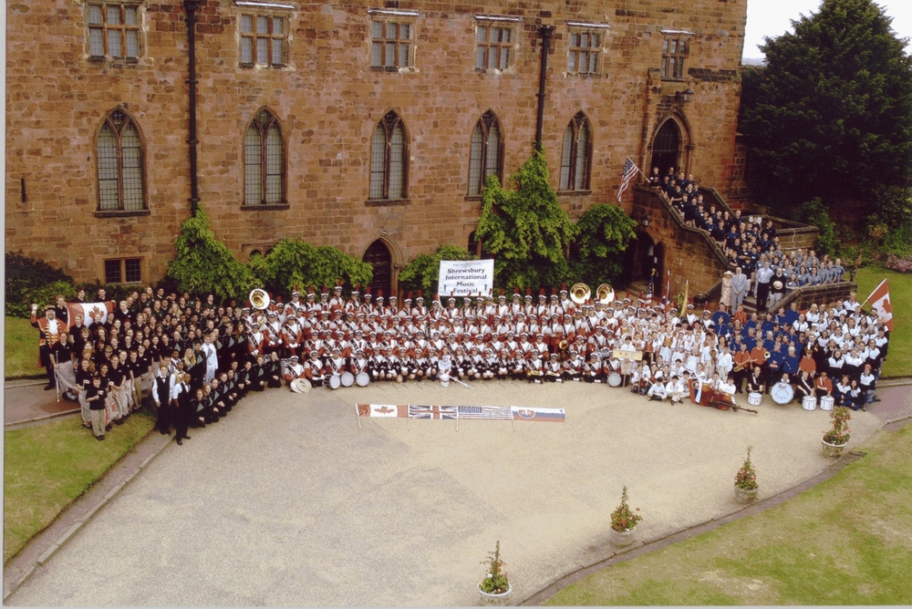 All of the participant at the Shrewsbury International Festival.