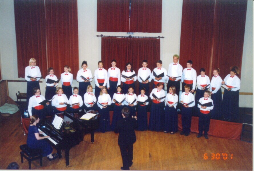 Performing at the Festival Drayton Centre.