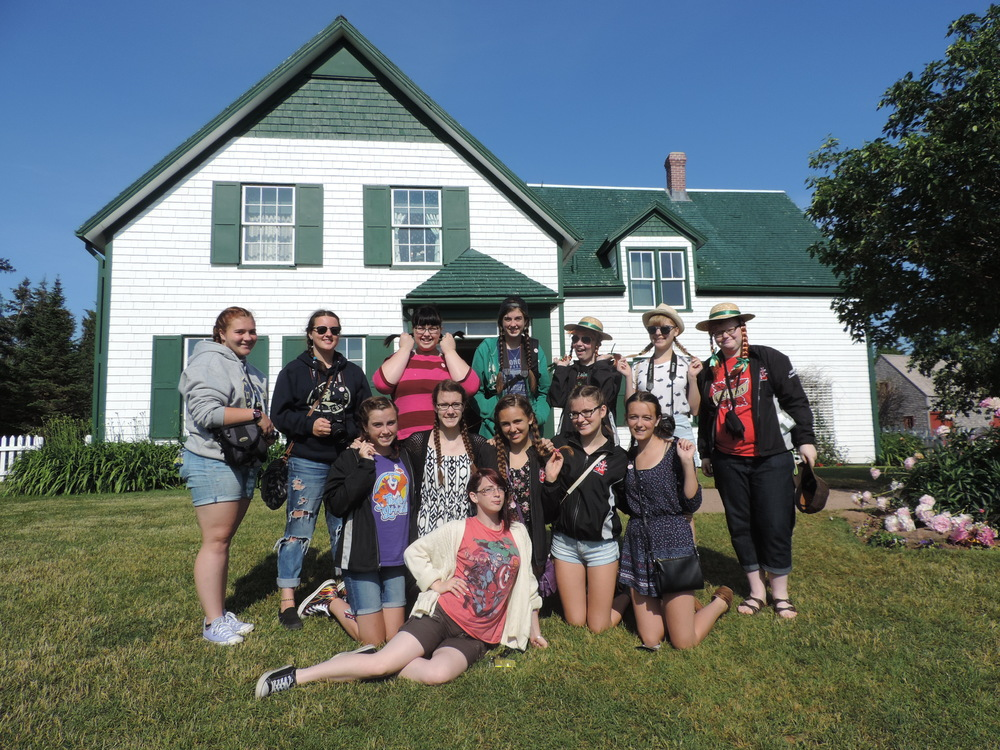 Anne of Green Gables House, PEI.