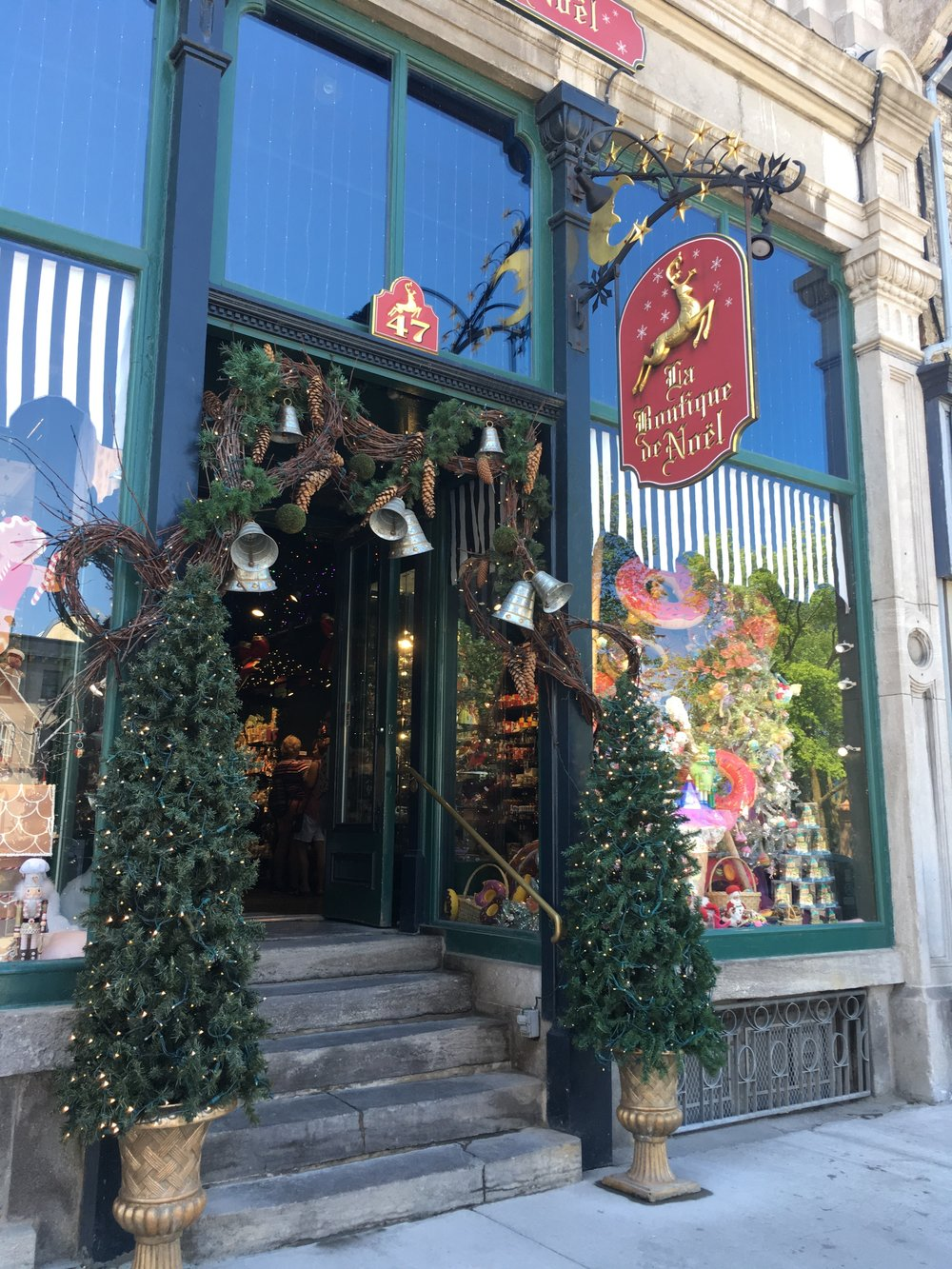 in quebec city across from the basilica there is a beautiful christmas store called la boutique de nol every year when i come to quebec city with my grade - Why Is It Called Christmas