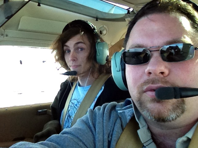 Flying with Brandt