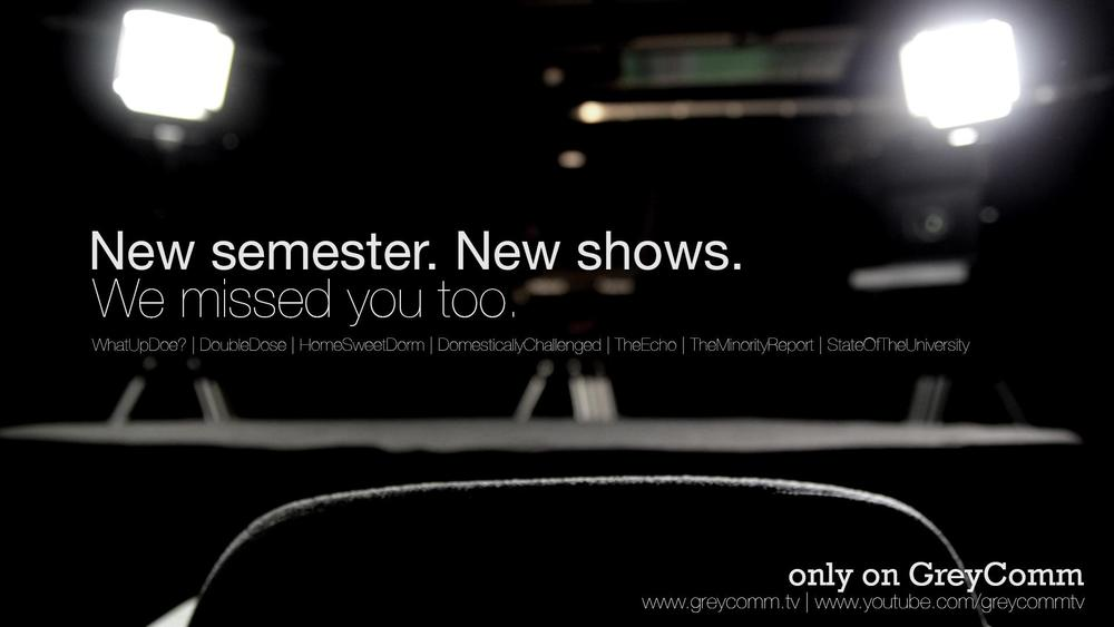 "The latest ""Only on GreyComm"" AD I created in October."