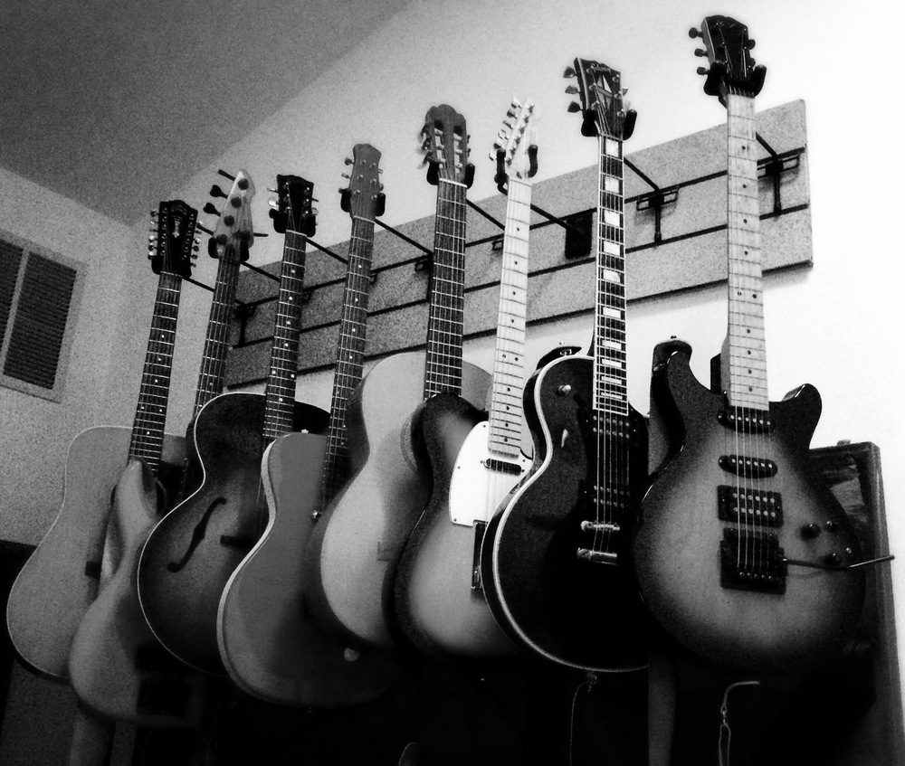 Guitars On Wall 03-jpmini b&w.jpg