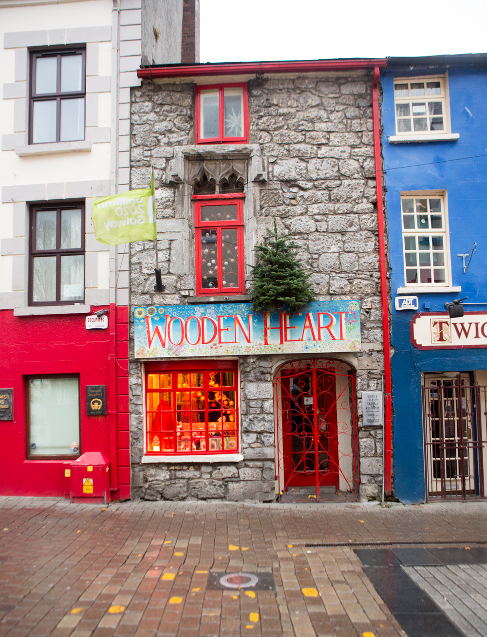 Dan's coffeeshop is across the street from the sweetest toy shop called Wooden Heart, which is run by his parents! The family has been in Galway for many years, and both shops are beloved.
