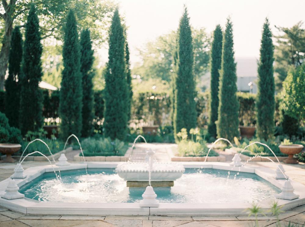 ST Louis Wedding - Missouri Botanical Garden
