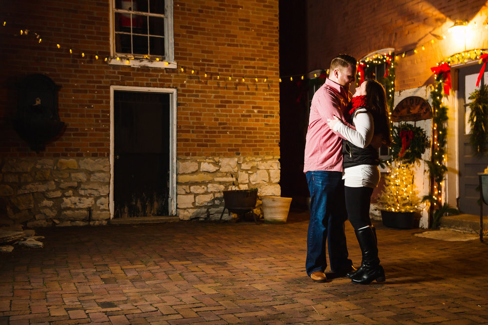 St Charles Christmas Lights Engagement Session Favorites-0007.jpg