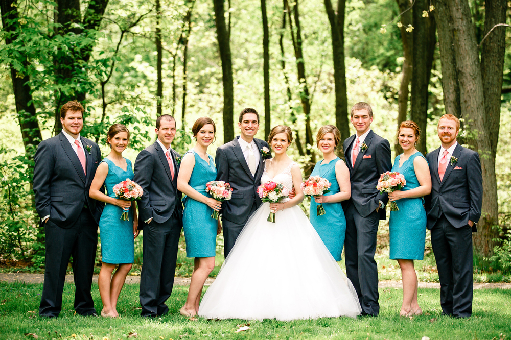 Bridal Party Photos in Forest Park St Louis Wedding Photographer Oldani Photography 1.jpg