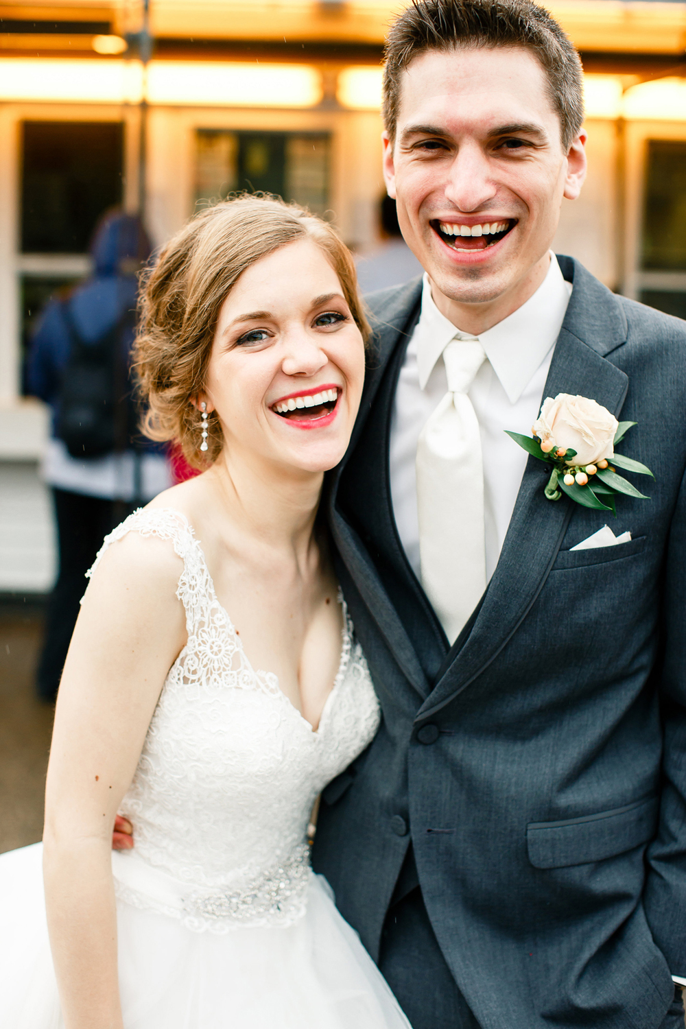 Bride Groom Ted Drewes Wedding Day St Louis Wedding Photographer Oldani Photography 2.jpg