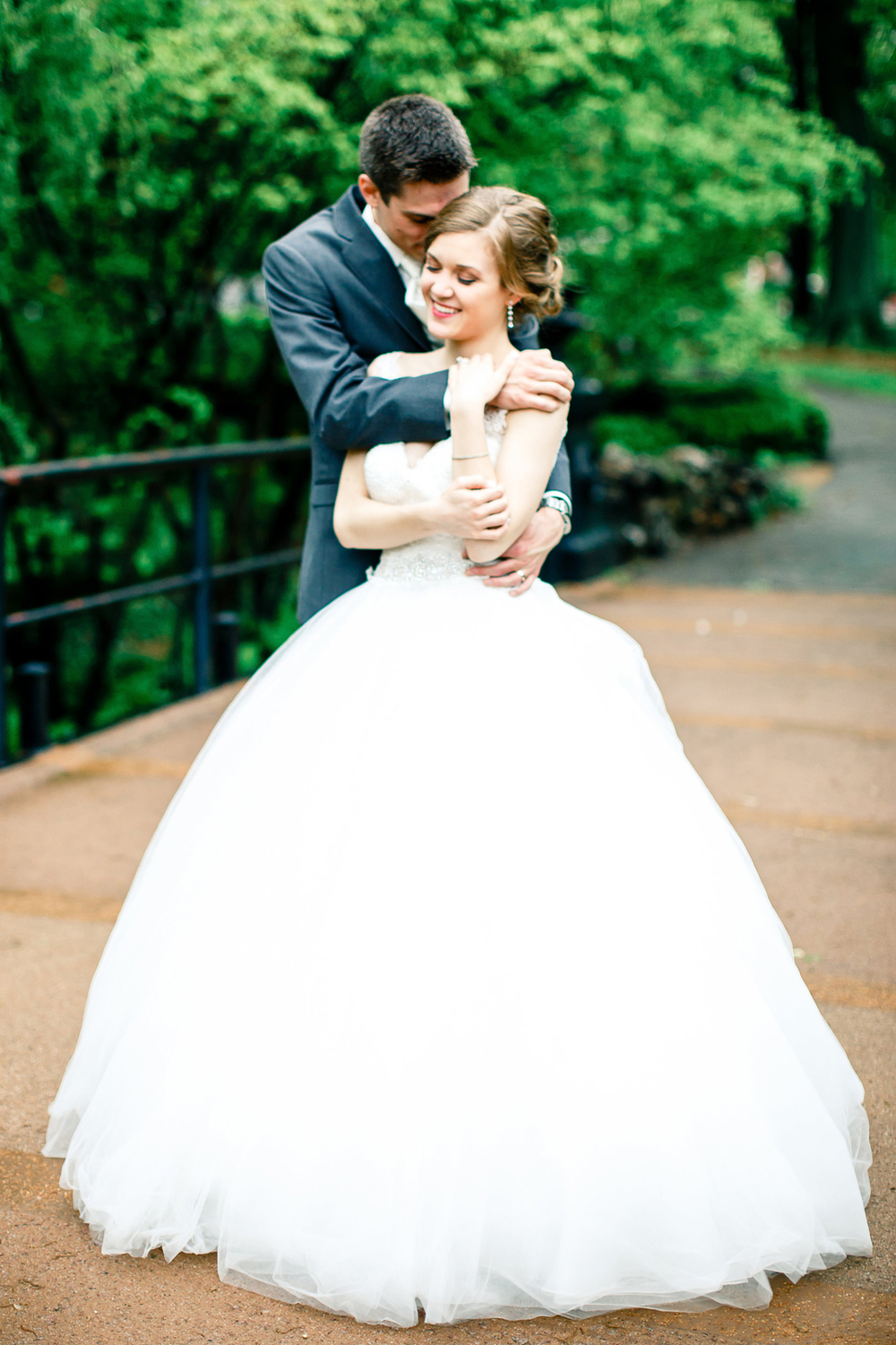 Bridal Portraits Lafayette Square Park Bride Groom St Louis Wedding Photographer Oldani Photography 3.jpg