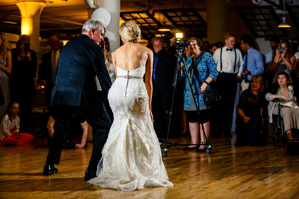 Special Dances Gold Wedding Reception at Windows on Washington Downtown St. Louis Wedding Photographers by Oldani Photography 4.jpg