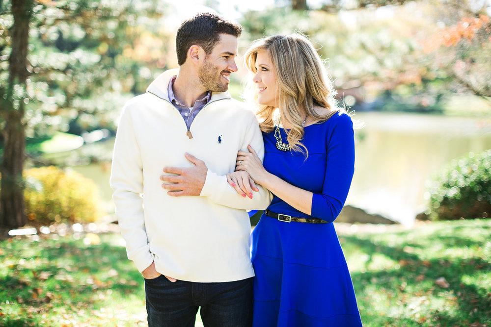Missouri Botanical Gardens Engagement Photos by Oldani Photography St. Louis Wedding Photographers