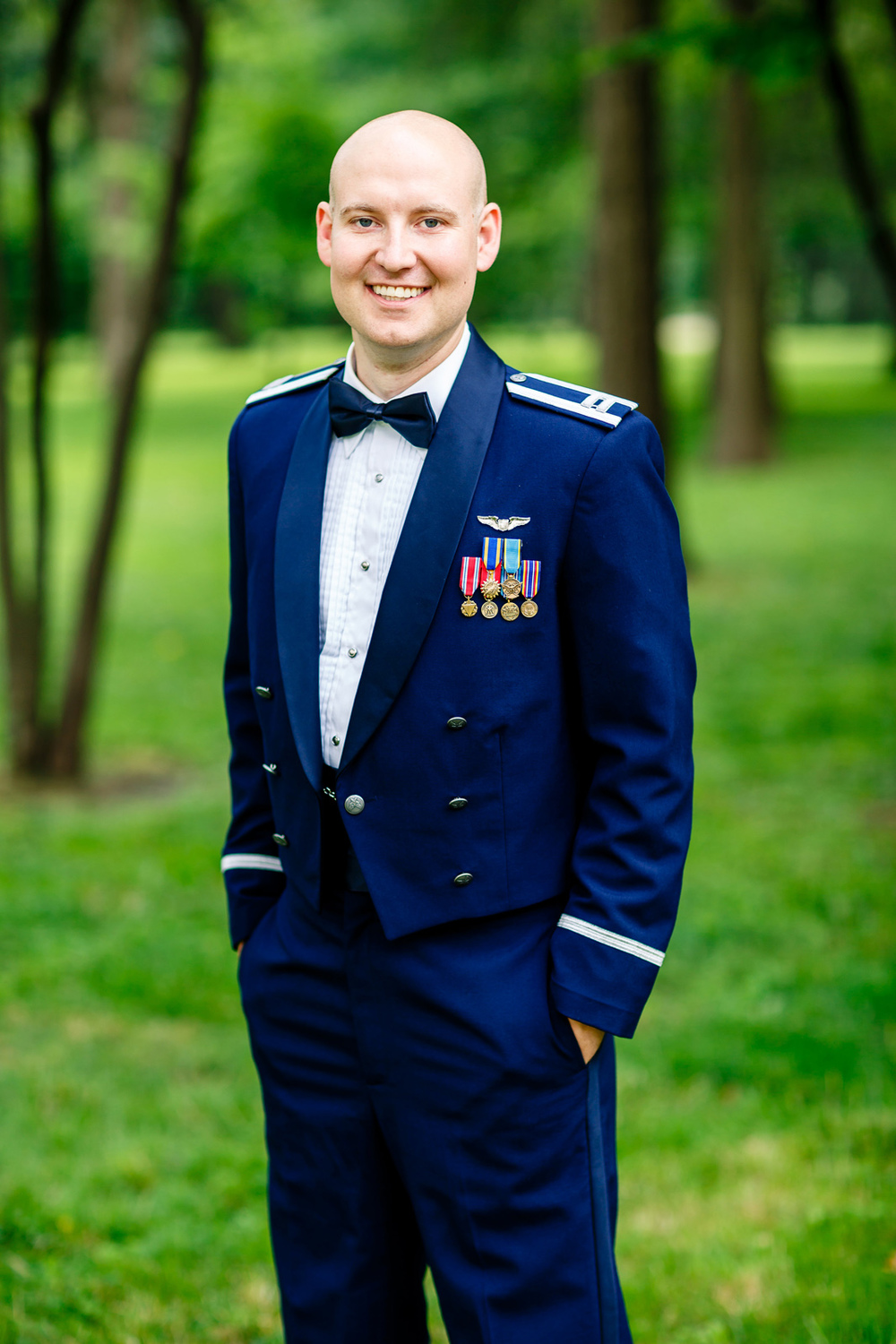 Hilton Frontenac St. Louis Air Force Wedding by Oldani Photography St. Louis Wedding Photographers