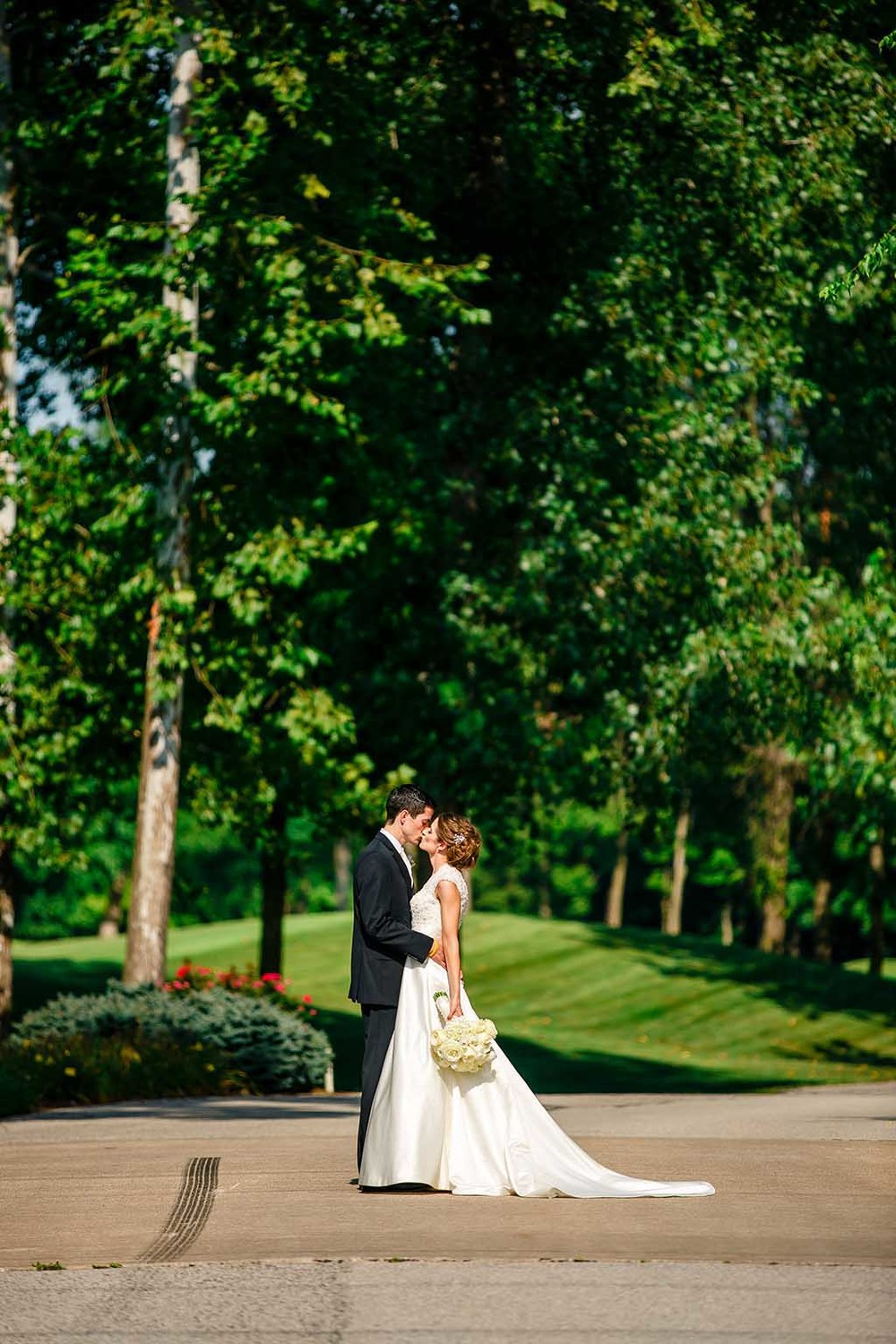 St. Angela Merici / Forest Park / Old Hickory Golf Club Wedding Photos by Oldani Photography St. Louis Wedding Photographers