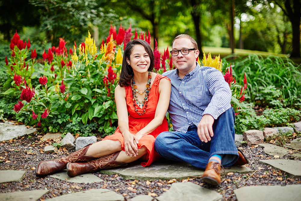 Lafayette Square Park Engagement Photos by Oldani Photography