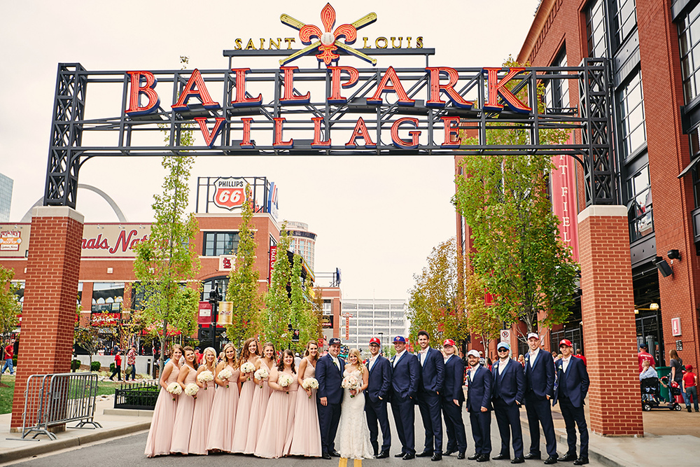 Oak Knoll Park / Busch Stadium / Tapawingo National Golf Club Wedding Photos by St. Louis Wedding Photographers Oldani Photography