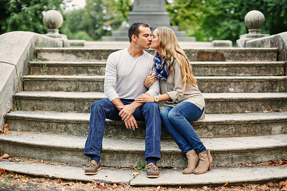 Lafayette Park - St. Louis Engagement Session by St. Louis Wedding Photographers Oldani Photography