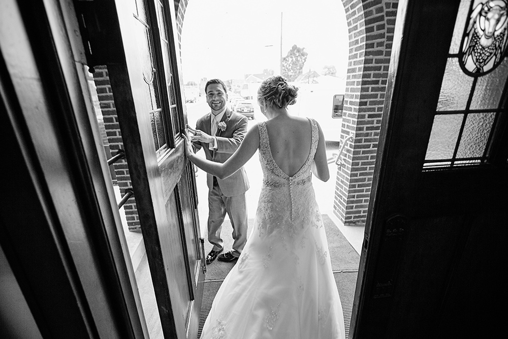 St. Paul Lutheran Church Columbia IL Wedding Photos by Oldani Photography - Lafayette Park - Windows on Washington - Columbia Wedding Photographers