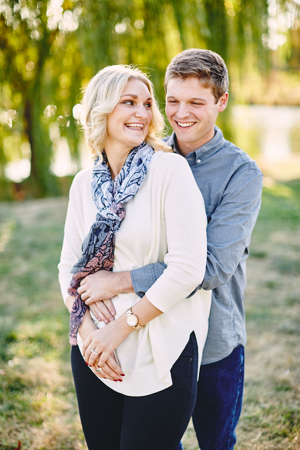 St. Louis Boathouse Engagement Session in Forest Park by Oldani Photography