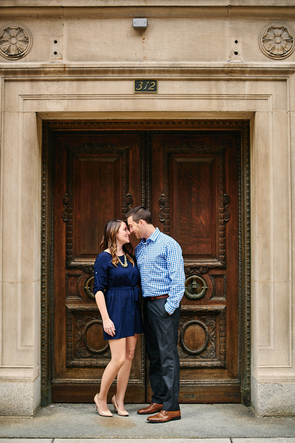 Downtown St. Louis Engagement Photos by Oldani Photography_Forest Park_Steinberg Skating Rink